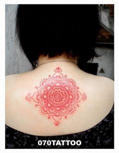 Mandala Tattoo!  ¿Conoces los mandala?