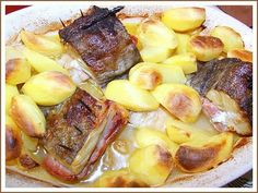 Chocolate Morno: Bacalhau com presunto