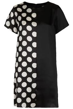Spot Mix Tunic Dress