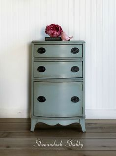 Super Cute Duck Egg Blue End Table or Night Stand by ShenandoahShabby on Etsy Old Sewing Cabinet, Dark Wax, Duck Egg Blue, Night Stand, End Tables, Painted Furniture, Shabby, Super Cute, Handmade