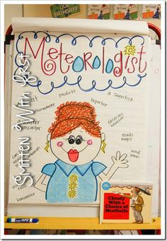 Meteorologist Anchor Chart