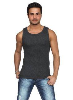 Urban Classics - Mens Tanktop TB066 T-Shirt Männer Charcoal
