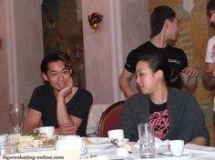 With Mao Asada(JAPAN) : Denis Ten and Friends 2014
