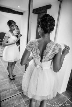 Mariage vietamo-portugais à Lyon {My-Duyen & Filipe} -  Awesome short wedding dress!!