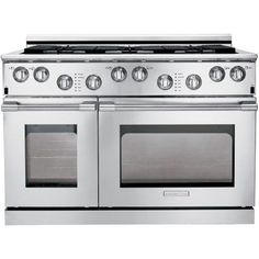 Click Image Above To Buy: Electrolux Icon Professional Dual Fuel Range - Freestanding - Wide - 1 Oven(s) - 6 Cooking Elements - Stainless Steel Appliance Sale, Appliance Repair, Kitchen Interior, Kitchen Decor, Best Refrigerator, Oven Range, 48 Range, W 6, Cool Kitchens