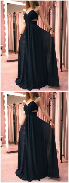 APART Chiffon Kleid Abendkleid NEU kobaltblau mit Leo Animal Look