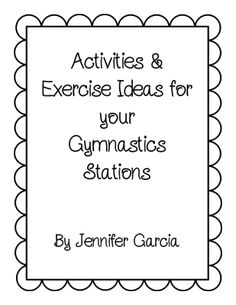 How to teach gymnastics in physical education pe pinterest gymnastics warmups from en amor con 4 on teachersnotebook 6 pages fandeluxe Image collections