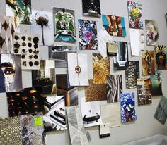 Why have a mood board when you can have an inspiration wall?!