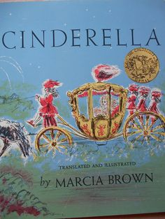 Cinderella by Marcia Brown. Paperback originally published in 1954 this is a later 1990s printing. {C O N D I T I O N & D E S C R I P T I O N}  Paperback: good condition, tight binding, clean interior, very light shelf wear. A charming little story book, Marcias soft and beautiful illustrations are sure to capture the imagination. Its no wonder they won her the Caldecott medal in 1955. Ms. Brown won three Caldecott medals in all! An honor known only to one other illustrator, David Wiesner...