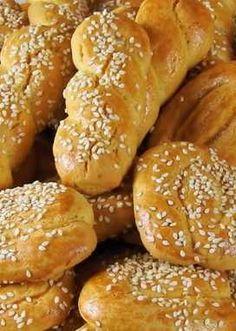 Greek Sweets, Greek Desserts, Greek Recipes, Diet Recipes, Diet Meals, Greek Cookies, Almond Cookies, Koulourakia Recipe, Cookie Recipes