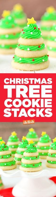 Ask yourself, would you rather decorate a real tree, or a sugar cookie Christmas tree?
