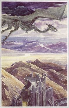 The Lord of the Rings - Alan Lee Art - Nazgul