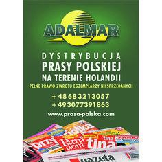 Dystrybutor prasy polskiej – Adalmar #popolsku