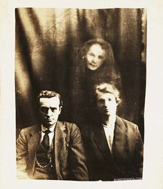 First Faked Photographs of Ghosts