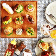朝ごはん。Breakfast。