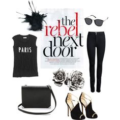 """REBEL NEXT DOOR"" by sdiana-1 on Polyvore"