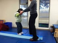 Balance Beam Ideas -  Pinned by @PediaStaff – Please Visit http://ht.ly/63sNt for all our pediatric therapy pins