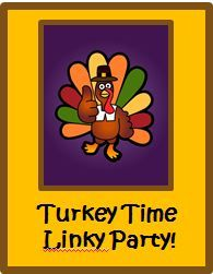 Stop by to pick up lots of goodies for Thanksgiving! Be sure to link up your own turkey posts and resources, too!