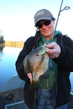 Spring Bluegill Fishing.  #fishing