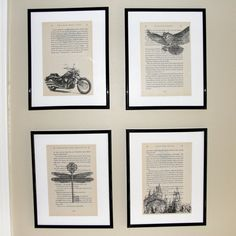 Harry Potter Sorcerer's/Philospher's Stone (Book 1) book page art - Upcycled book page art prints - Home decor - Great for framing
