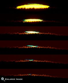 The Green Flash: Sunsets Colorful Surprise from NASA