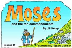 Lambsongs Bible Story Books - Moses and the Ten Commandments