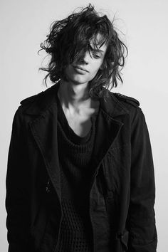 "calichele: "" Erin Mommsen for Faith Connexion SS16 Menswear | ph. ? (via) hair: Bénédicte Cazau Beyret """