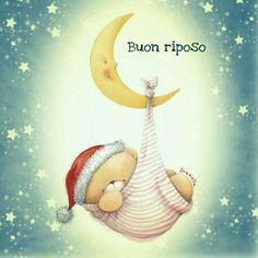 Buonanotte Good Morning Kisses, Hello Kitty Christmas, Good Night, I Am Awesome, Animals, Teddy Bears, Audi, Snoopy, Messages