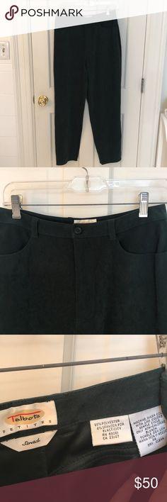 18ac0de2b61f24 Talbots Dark Green Pants Dark green pants. Very comfy! Excellent condition! Talbots  Pants