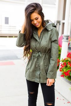 Dottie Couture Boutique, Utility Jacket, Military Jacket, My Style, Fall, Jackets, Outfits, Instagram, Fashion