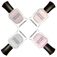Go for the bare minimum with these sheer neutral polishes: