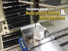 Metal drilling tapping and boring machines  http://in.kompass.com/live/en/g53029901070303/manufacturing/metal-drilling-centring-tapping-boring-machines-1.html