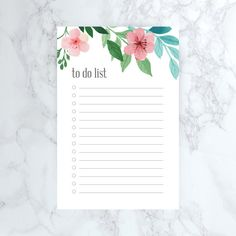 To Do List and Notes Printable  / by ShopSimplyHomeCo
