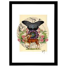 """Deer Friend""| Z.Prints by Rinaldo Zirrah"