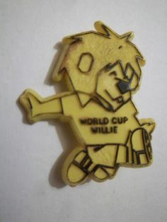 World Cup 1966 Badge Willie | eBay