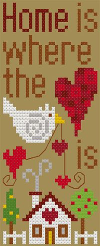 Home is Where the Heart is, designed by  Barbara Ana Astray Mendez, from Barbara Ana Designs.