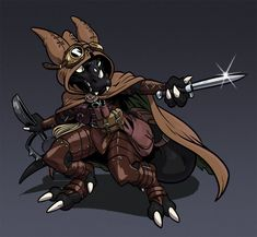 Nilbog - Pathfinder Kobold Character by AngusBurgers on DeviantArt Fantasy Character Design, Character Creation, Character Drawing, Character Design Inspiration, Character Concept, Dungeons And Dragons Characters, Dnd Characters, Fantasy Characters, Anthro Dragon