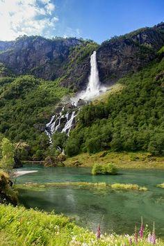 Aurlandsfjord. Norway