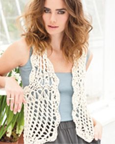 free crochet vest patterns for beginners | Free Vest Patterns | Knitting & Crochet & Yarn | Purple Kitty