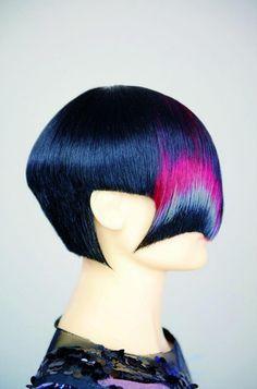If kanji were written in hair instead of paint