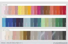 colour trends for 2013-2014
