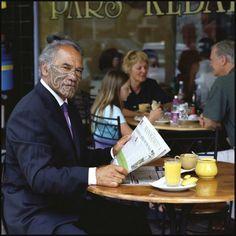 Chief-Kingi Taurua lensed by Patricia Steur. Auckland. 2000.