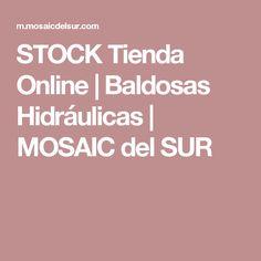 STOCK Tienda Online | Baldosas Hidráulicas | MOSAIC del SUR