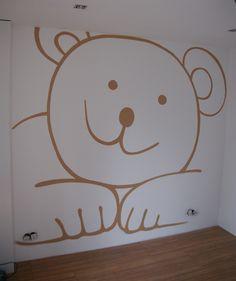 Muurschilderingen & Graffitiworkshops » kinderkamer