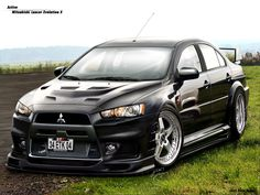 Mitsubishi Lancer - Love it! However I don't think I can make mine look like this.