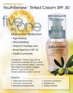 Oak Tree Spa has the ew Pevonia products for this summer!