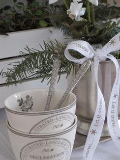 Greengate   Let it snow...-ribbon