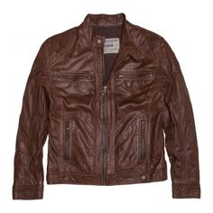 Veste Mapple Chocolate Chip - Vestes & Manteaux - Man #FREEMANTPORTER #man #Jacket #leather