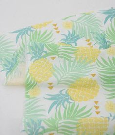 pineapple fabric Pineapple Fabric, Window Treatments, Quilts, Blanket, Tableware, Dinnerware, Quilt Sets, Tablewares, Blankets