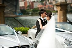You'd want these seriously stylish vehicles from Openair Wedding Cars in your photos too!